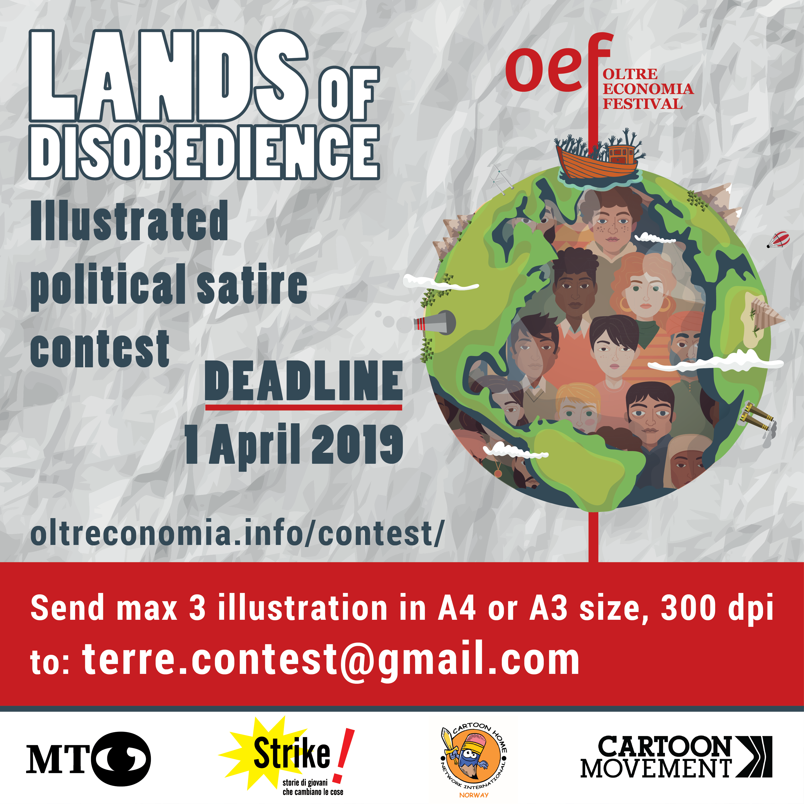 Lands Of Disobedience Contest Del Rosso Cartoons