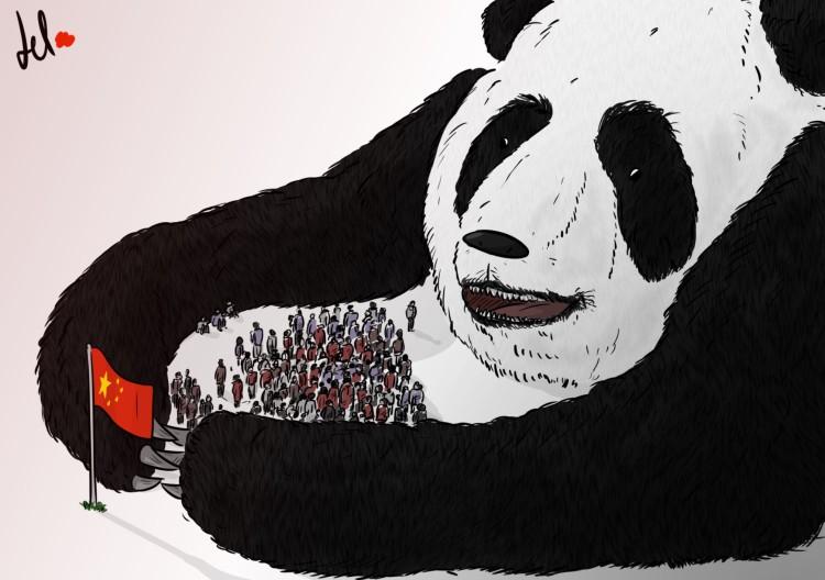 China's grip - del rosso