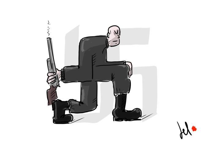 Neo nazis germany - del rosso