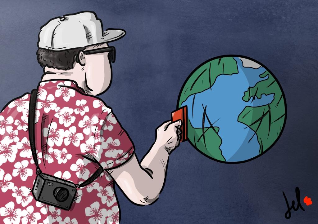 ATM Earth - del rosso